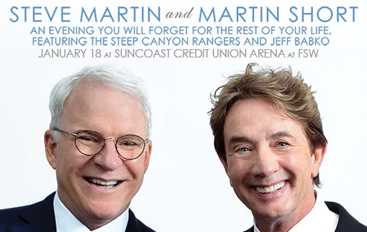 Steve Martin, Martin Short, The Steep Canyon Rangers & Jeff Babko at McMenamin's Edgefield Concerts