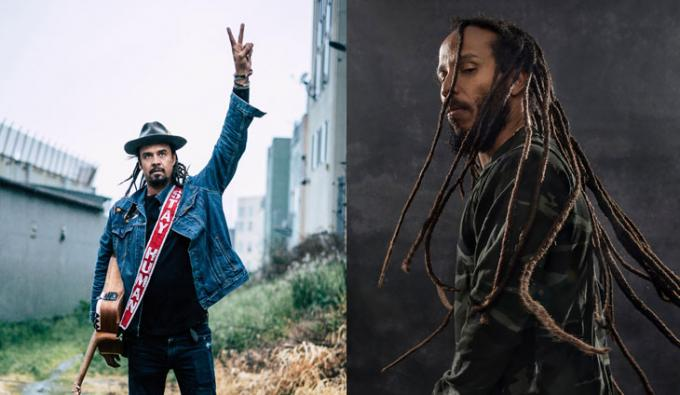 Michael Franti and Spearhead & Ziggy Marley at McMenamin's Edgefield Concerts
