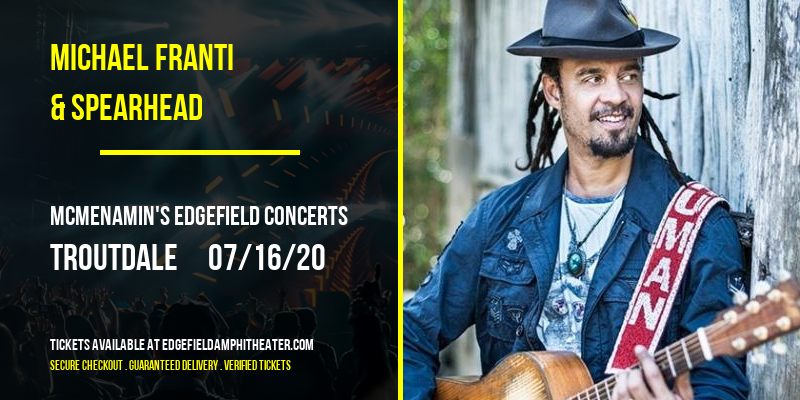 Michael Franti & Spearhead at McMenamin's Edgefield Concerts