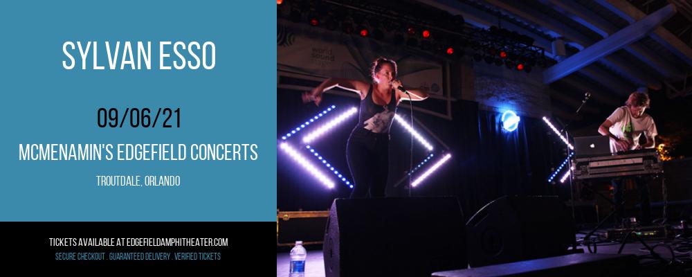 Sylvan Esso at McMenamin's Edgefield Concerts