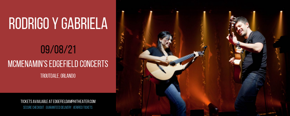 Rodrigo Y Gabriela at McMenamin's Edgefield Concerts