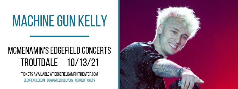 Machine Gun Kelly at McMenamin's Edgefield Concerts