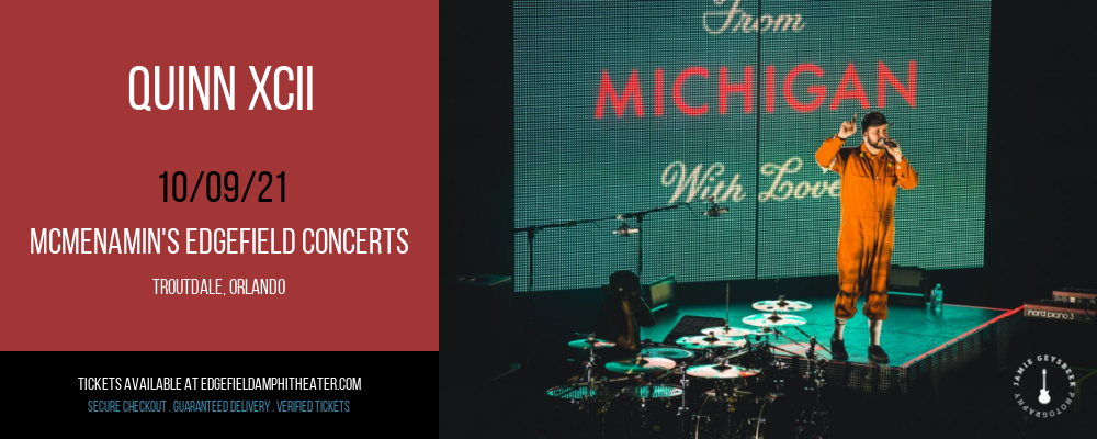 Quinn XCII at McMenamin's Edgefield Concerts