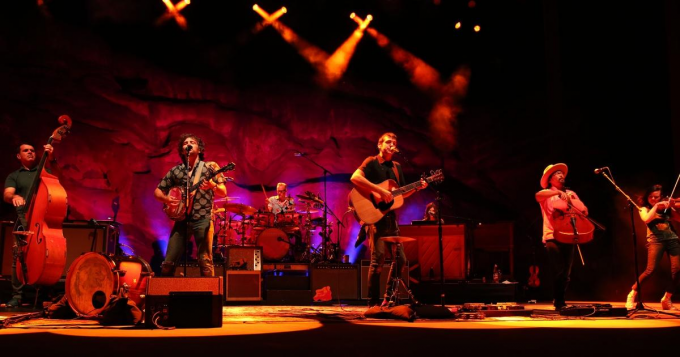 The Avett Brothers at McMenamin's Edgefield Concerts