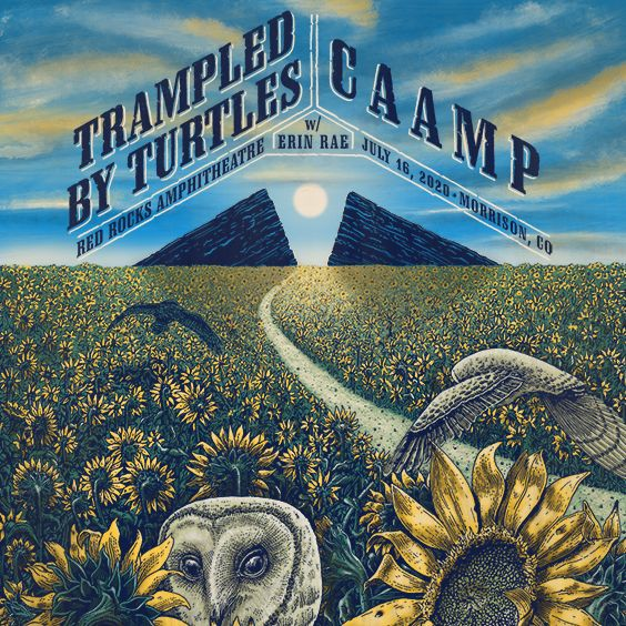Trampled by Turtles & CAAMP [CANCELLED] at McMenamin's Edgefield Concerts